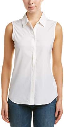 AG Jeans Rae Silk-Blend Shirt
