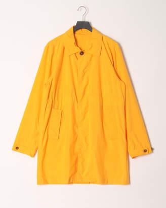 Yota Toki(ヨータトキ) Yellow 日本製 ステンカラー 比翼 コート