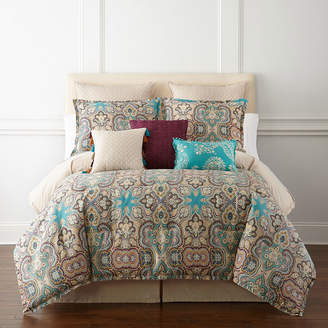 JCPenney JCP HOME HomeTM Casbah 4-pc. Comforter Set