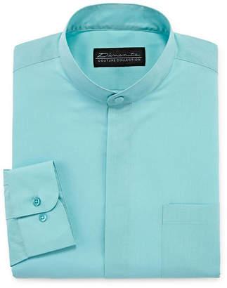 DAMANTE Damante Modern Long Sleeve Woven Dress Shirt Bid & Tall