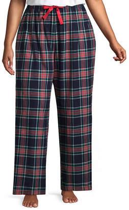 SLEEP CHIC Sleep Chic 100 Flannel Pajama Pants