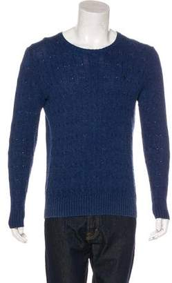 Polo Ralph Lauren Silk Cable Knit Sweater