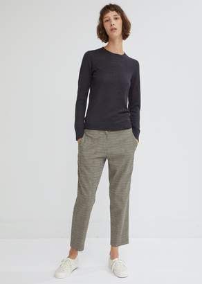 6397 Houndstooth Check Cropped Trousers