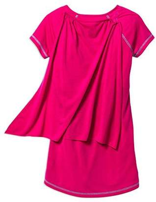 Barbie Girls Superhero Nightgown with Cape & Doll's Gown, Kids Size L(10/12)