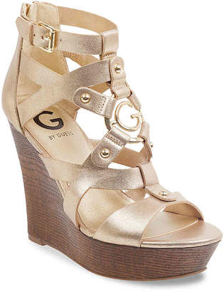 G by Guess Dodge Wedge Sandal - Women's