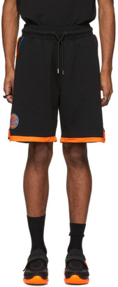 Marcelo Burlon County of Milan Black NBA Edition Knicks Shorts
