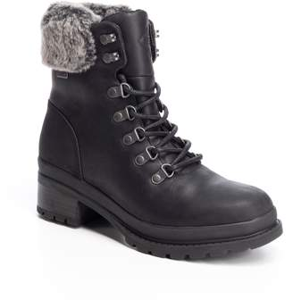 The Original Muck Boot Company Liberty Alpine Waterproof Boot with Faux Fur Collar