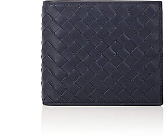 Bottega Veneta Men's Intrecciato Billfold - Navy