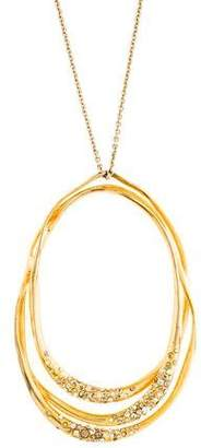 Alexis Bittar Liquid Crystal Tiered Pendant Necklace
