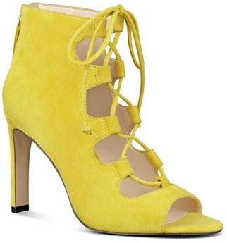 Women's Nine West 'Unforgettable' Lace-Up Sandal $108.95 thestylecure.com