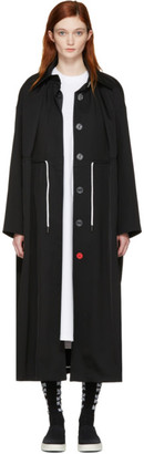 Off-White Black Mackintosh Couture Trench Coat $1,850 thestylecure.com