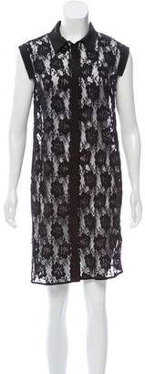 AllSaints Sleeveless Lace Dress