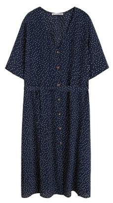 Violeta BY MANGO Polka dot shirt dress
