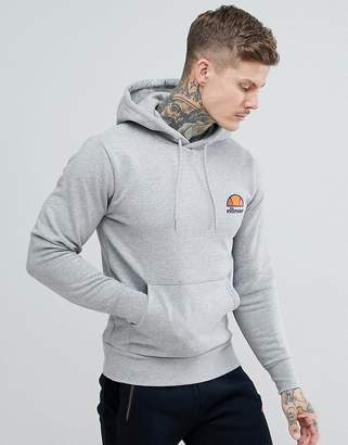 Ellesse hoodie with small logo in gray