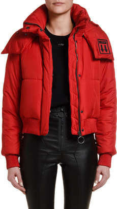 Off-White Off White Hooded Puffer Jacket