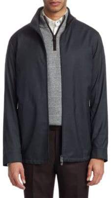 Ermenegildo Zegna Full Zip Lightweight Jacket