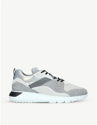 Hogan Interactive3 suede and nubuck trainers