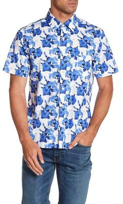 Kennington Hawaiian Nights Short Sleeve Slim Fit Shirt