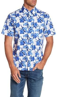 Kennington Hawaiian Nights Short Sleeve Slim Fit Shirt