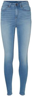 Noisy May Skinny-Fit High-Waist Jeans