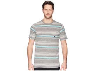 VISSLA Canggu Knit Top Men's Short Sleeve Button Up