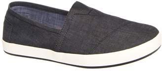 Toms Men's Avalon Slipon Chambray M Ankle-High Fabric Flat Shoe - 10.5M