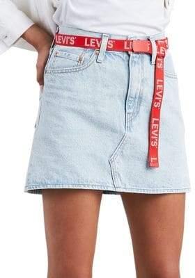 Levi's Ice Cold Denim Mini Skirt