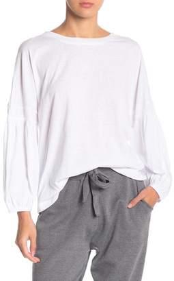 Wishlist Crew Neck Blouson Sleeve Tunic