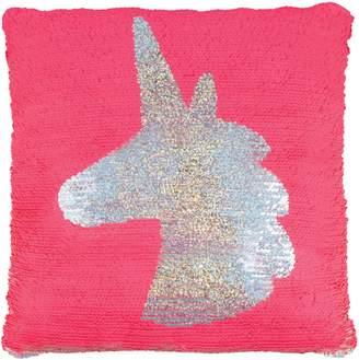 Fashion Angels Magic Flip Sequin Unicorn Accent Pillow