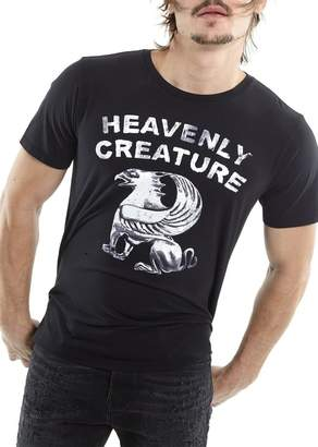 Cult of Individuality Heavenly Creature Graphic Print Crew Neck T-Shirt