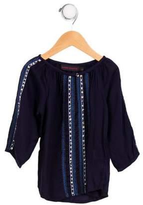 Antik Batik Girls' Embellished Long Sleeve Top