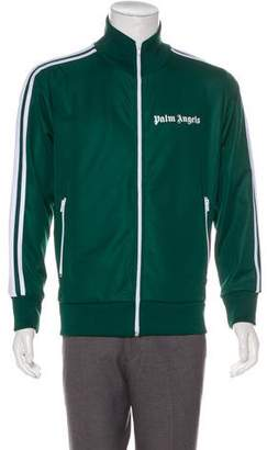 Palm Angels 2018 Striped Satin Track Jacket