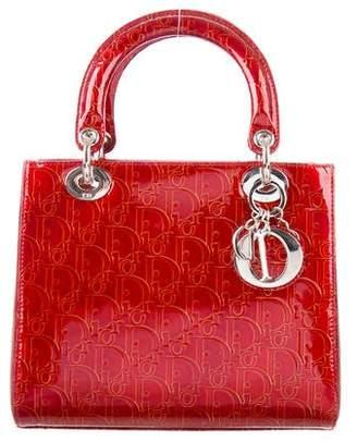 Christian Dior Medium Diorissimo Lady Bag w/ Strap