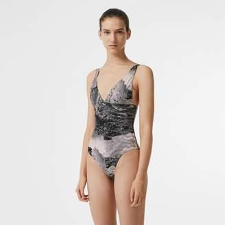 Burberry Dreamscape Print Swimsuit