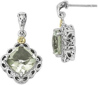 Couture FINE JEWELRY Shey Genuine Quartz Sterling Silver Drop Earrings