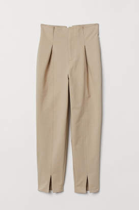 H&M Ankle-length Pants - Brown