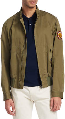 Roberto Cavalli Blusotto Ricamo Patch Bomber Jacket