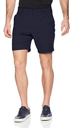 Perry Ellis Men's Stretch Solid Tech Performance Short