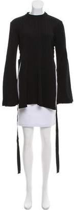 Ellery Backlash Long Sleeve Top