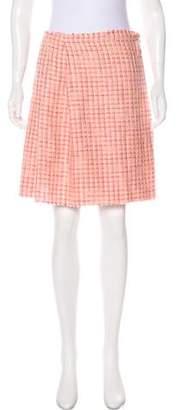Roland Mouret Tweed Mini Skirt