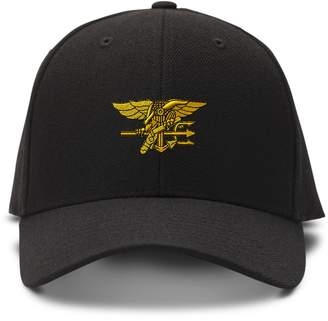Speedy Pros U.S. Navy Seal Military Embroidery Embroidered Adjustable Hat  Baseball Cap 3b631f09dcfd
