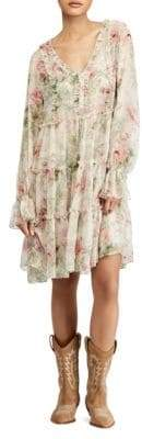 Polo Ralph Lauren Long Sleeve Floral Alexa Dress