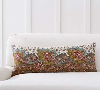 Pottery Barn Salinas Printed Lumbar Pillow Cover