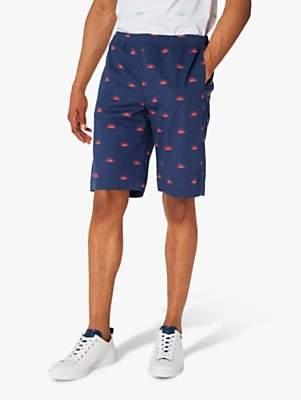 Paul Smith Exclusive Half Sun Print Shorts, Navy