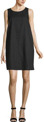 Liz Claiborne Ibiza Waves Sleeveless Striped A-Line Dress