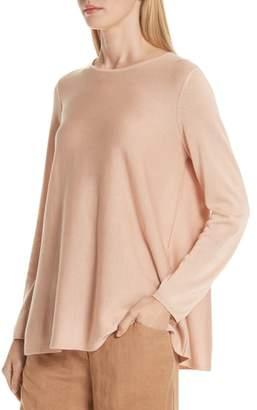Eileen Fisher Tencel(R) Lyocell & Silk Sweater