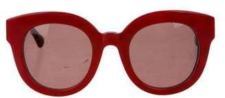 Dolce & Gabbana Tinted Round Sunglasses