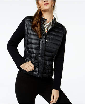 Marella Nano Quilted-Front Puffer Jacket