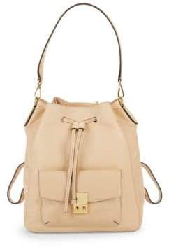 Cole Haan Alanna Convertible Leather Backpack