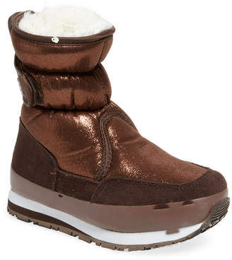 Rubber Duck Classic Snowjogger Glittered Boot